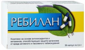 РЕБИЛАН капс. 0,4г N36 Вис