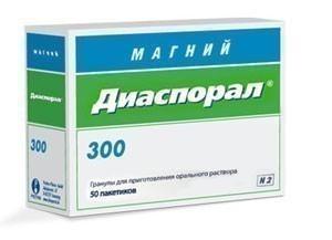 МАГНИЙ-ДИАСПОРАЛ 300 5г N20 гранулы д/приготовления р-ра Protina Pharmazeutische GmbH
