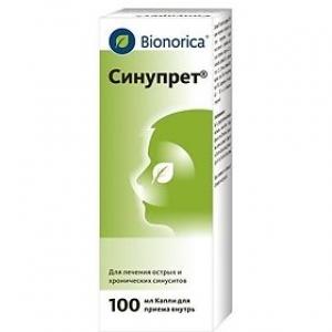 СИНУПРЕТ 100мл капли д/приема внутрь Bionorica SE