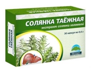 СОЛЯНКА капсулы №30 0,4 Тайга-продукт
