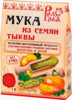 МУКА Тыквенная 200гр