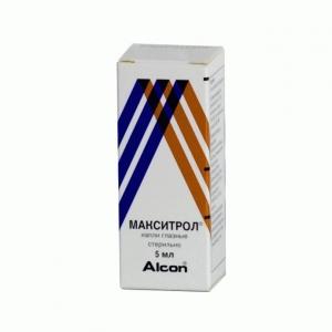 МАКСИТРОЛ 5мл капли глазные Алкон