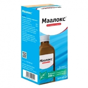 МААЛОКС 250мл суспензия Санофи-Авентис С.П.А.