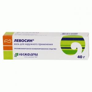 ЛЕВОСИН 40г мазь д/наружного применения Нижфарм