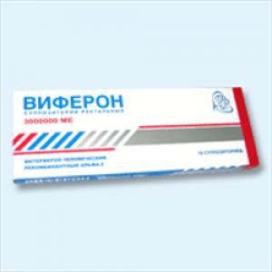 ВИФЕРОН-4 3000000МЕ N10 суппозитории ректальные Ферон