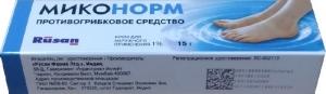 МИКОНОРМ 1% 15г крем Rusan Pharma