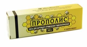 ПРОПОЛИС 30г мазь гомеопатическая МФФ