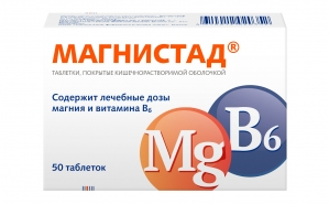МАГНИСТАД 48мг+5мг N50 таб. покрытые кишечнорастворимой оболочкой Нижфарм