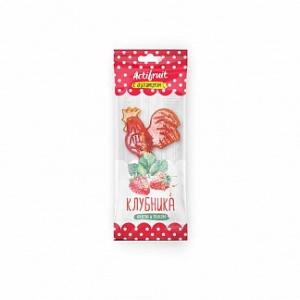 АКТИФРУТ леденцовая карамель с витамином С со вкусом клубники 17г Гуслица