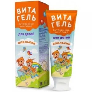 ФОРТЕВИТ КИДС витаминный комплекс Витагель д/детей со вкусом апельсина 100мл Мирролла