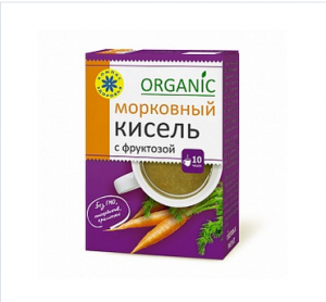 КИСЕЛЬ овсяно-льняной морковный с фруктоз 150г
