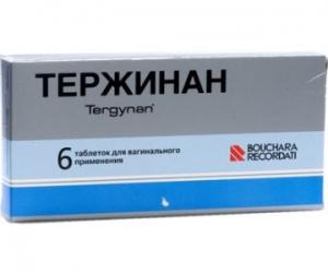 ТЕРЖИНАН N6 таб. вагинальные Софартекс