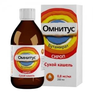 ОМНИТУС 200мл сироп Хемофарм