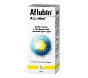АФЛУБИН 20мл капли д/приема внутрь Richard Bittner AG