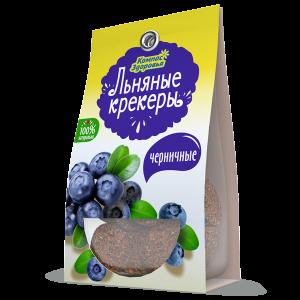 КРЕКЕР Льняной с черникой  50гр